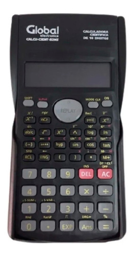 Calculadora Cientifica Global 10 Dígitos 85ms-5