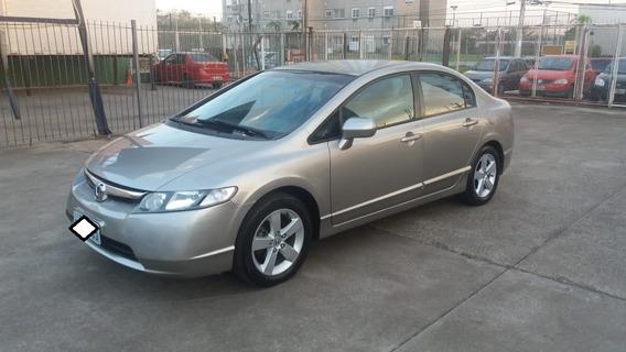 Honda New Civic Lxs 1.8 - Manual - 2007 - Gasolina