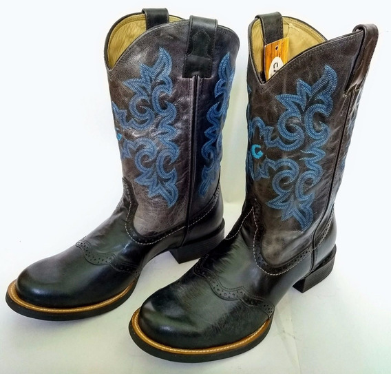 Bota Country Masculina Texana Goyazes - Pull Up - Num. 39