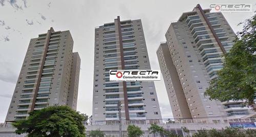 Imagem 1 de 16 de Apartamento Residencial À Venda, Alphaville Campinas, Campinas - Ap0205. - Ap0205