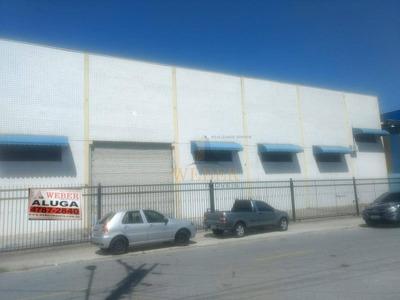 Galpão Industrial Próximo Ao Shopping Taboão - Ga0020