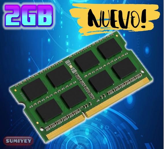 #9 Memoria 2gb Ddr3 1333mhz Pc3-10600 1.5v Cl=9 Laptop
