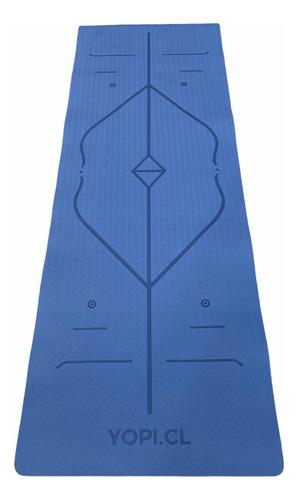 Imagen 1 de 2 de Mat De Yoga Eco | Yopi - Azul