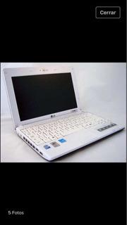 Netbook LG X 110 Casi Nueva Apta Para Usar Con Chip Windows