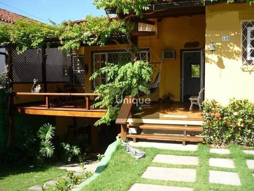 Casa Com 3 Dormitórios À Venda, 200 M² Por R$ 580.000,00 - Balneário São Pedro - São Pedro Da Aldeia/rj - Ca0080
