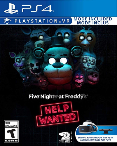 Ps4 Five Nights At Freddys Help Wanted / Fisico