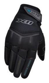 Luva X11 Feminina Fit X Motociclista Touch Nos Indicadores