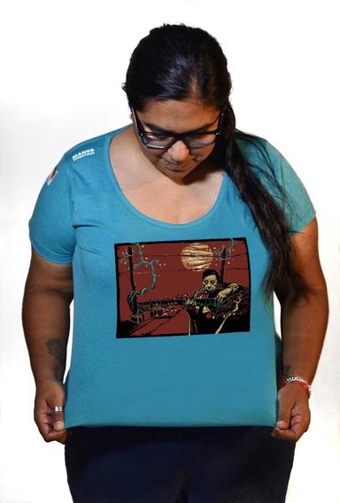 Remeras Rebeldes Atahualpa Yupanqui Mujer