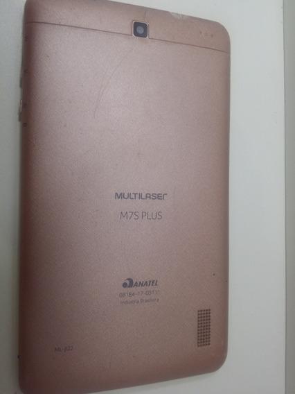 Tablet M7s Plus Multilazer Com Defeito Placa E Tela