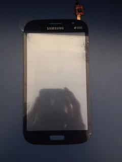 Toque De Tela Samsung Galaxy Grand Duos Gt- I9082 Preto