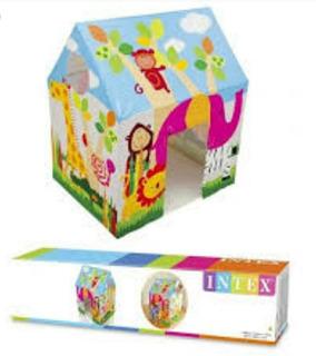 Casa Armables Para Niños Intex 95cmx75cmx107cm Nueva