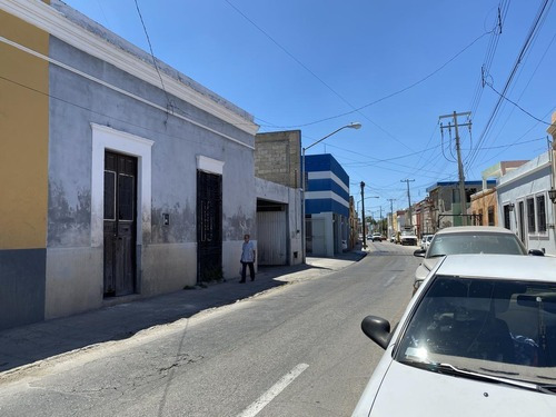 Casa Para Remodelar Colonial Y Terreno En Centro De Mérida!!!- Merida Centro