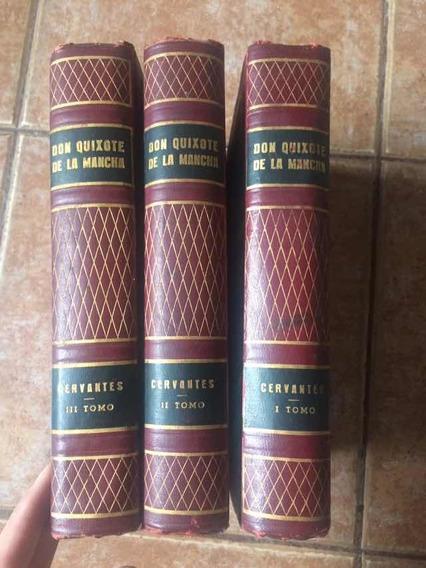 Coleçao Dom Don Quixote De La Mancha 3vls - Miguel Cervantes