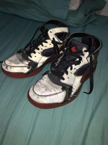 Zapatillas Nike Huarache Basquet Reflectivas