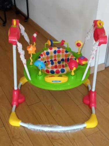 Jumper Rebotador Móvil Juguetes Sonidos Bebés Gira 360grados