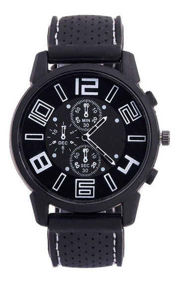 Reloj Deportivo Para Hombre Con Correa De Silicona De Moda G