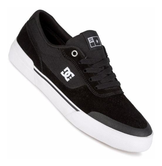 Zapatillas Dc Switch Negro-blanco Originales!!