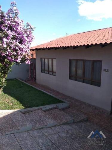 Imagem 1 de 30 de Casa Com 3 Dormitórios À Venda, 155 M² Por R$ 350.000,00 - Jardim Continental - Londrina/pr - Ca1054