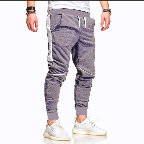 Pantalón Hombre Chupín Entallado Jogging Hombre Pack X2