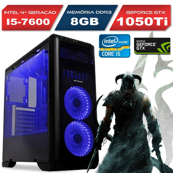 Pc Gamer Tornado Intel Core I5 Gtx 1050ti, 8gb Ddr4 Hd 1tb