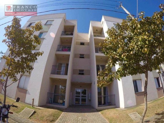 Apartamento Com 2 Dormitórios À Venda, Condomínio Porto Feliz - Sumaré/sp - Ap0303