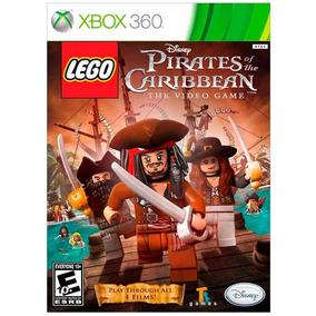 Lego Piratas Do Caribe Xbox 360   Mídia Física Original