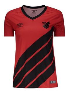 Camisa Oficial Athletico Paranaense Feminina 1 2019
