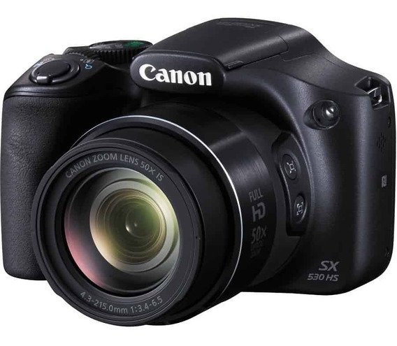 Cámara Canon Powershot Sx530 Hs / Tarj. Lexar Pro De Regalo