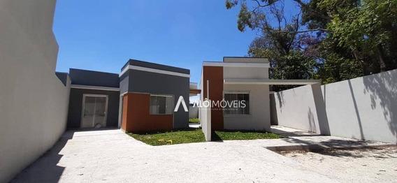 Casa Com 3 Dormitórios À Venda, 58 M² Por R$ 220.000,00 - Capela Velha - Araucária/pr - Ca0237