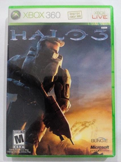Halo 3 P/ Xbox 360 Original Frete Cr $14 Veja
