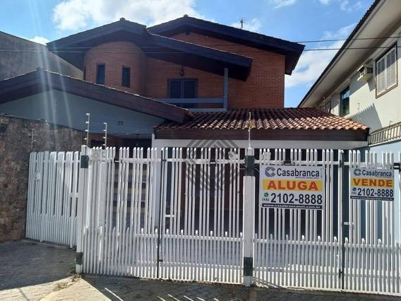 Sobrado Com 4 Dormitórios, 414 M² - Venda Por R$ 1.250.000,00 Ou Aluguel Por R$ 5.000,00/mês - Parque Campolim - Sorocaba/sp - So3153