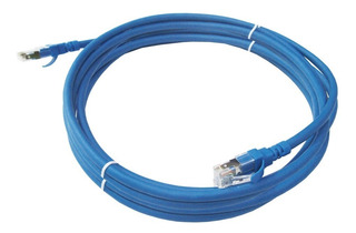 Cable Red Utp Cat 6 Lan 15 Mt Conector Funda Sellado Fabrica