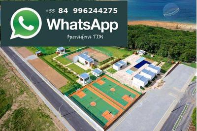 Lote Para Chácara, Em Condomínio Fechado, Na Lagoa Do Bonfim, Pronto Para Construir - Chácara Bonfim - Te0004