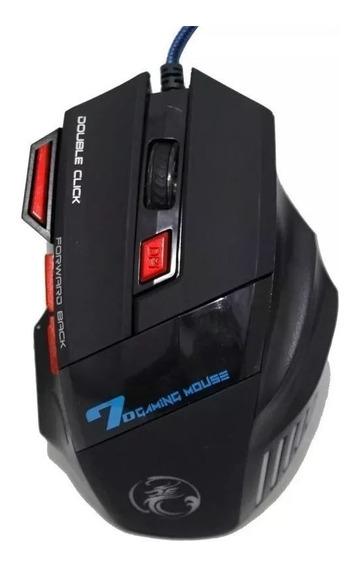 Gaming Mouse X7 Estone Led Jogos 7 Botões Pc Gamer