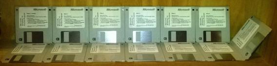 Windows 95 Original Microsoft 13 Diskettes Español Coleccion