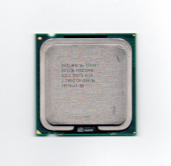 Processador Intel Dual Core E5800 3.20ghz Lga 775 + Frete