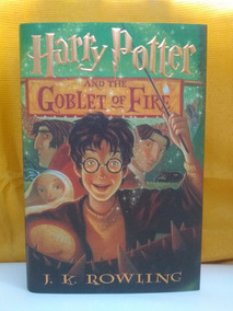 Harry Potter E O Cálice De Fogo (capa Dura) - Importado