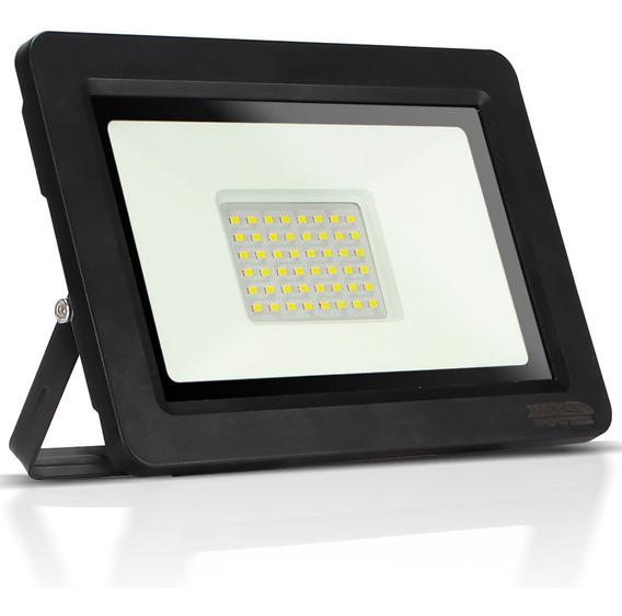 Refletor Led 200w Watts Holofote Branco Iluminação Jardim