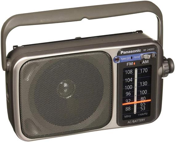 Panasonic Rf-2400d Radio Portátil Am/fm Funciona 110v &pilas