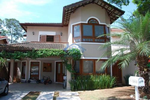 Sobrado Com 4 Dormitórios À Venda, 300 M² Por R$ 1.580.000,00 - Residencial Seis (alphaville) - Santana De Parnaíba/sp - So1136