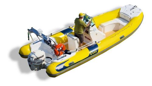 Bote Inflável Esportivo G600 Ii - Pvc - Zefir