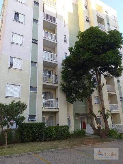 Apartamento Com 2 Dormitórios À Venda, 53 M² Por R$ 215.000,00 - Jardim Santa Izabel - Hortolândia/sp - Ap6720