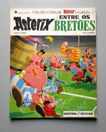 Asterix, O Gaulês - Asterix Entre Os Bretões - Uderzo - Gosc