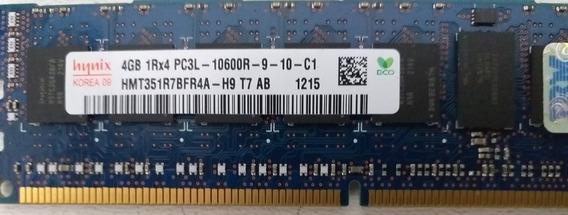 Memória Hynix 4gb Pc3l-10600r Ddr3-1333 Registe Ecc Server