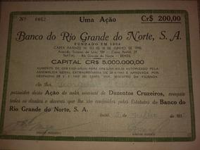 Nove Papéis Antigos Do Rio Grande Do Norte 1946