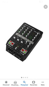 Mesa Mix Behring Vmx Usb Mixer 3 Canais
