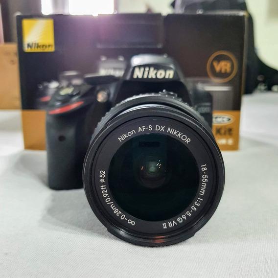 Câmera Nikon D3200 18-55 Vr Ii Kit