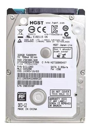 Hd 2,5 500gb 7mm Para Note/net/ultrabook/xbox Sata3 5400 Nf