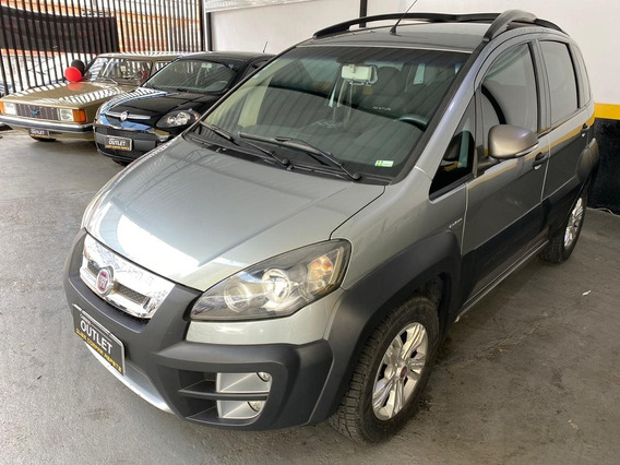 Fiat Idea 1.8 Adventure Dualogic 16v Flex 4p Automatizado