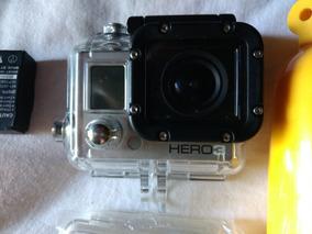 Camera De Ação Gopro 3 White + Acessorios + 2 Baterias